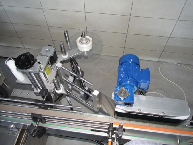 Yuvarlak Şişe Sarma Etiketleme Makinası
